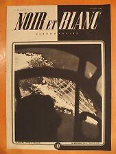 NOIR et BLANC N° 19 du 20/06/1945-Pilotes suicide Japonais-C.Dauphin & M.Presle