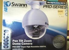 New Sealed Swann Super-High Resolution Pan, Tilt, Zoon Dome Camera