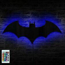 Batman Logo Combo Gadget Mirror Plus Batman Eclipse Light Remote Controlled LED