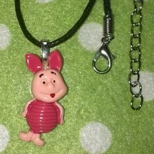 Cute Pink Piglet Pig Necklace Jewellery,Girls Christmas Gift, Aussie Seller