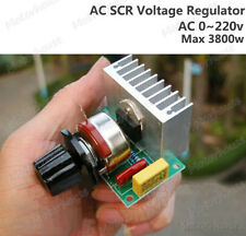 AC 0-220V 3800W SCR Voltage Regulator Speed Steuern Dimming Dimmers Thermostat