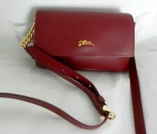 NWT Longchamp Honore Crossbody Purse Opera Red