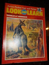 LOOK & LEARN Incorporating WORLD OF WONDER Comic - No 695 - Date 10/05/1975