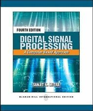 Digital Signal Processing: A Computer-Based Approach, Mitra, Sanjit K, New Condi