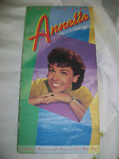ANNETTE FUNICELLO - 2 PICTURE CDS -  BOX SET WITH BOOKLET - OOP