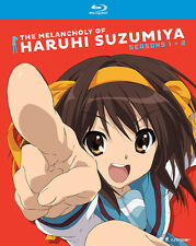 The Melancholy of Haruhi Suzumiya Seasons 1&2 (BD, 2016, 4-Disc Set)