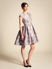 Temperley London Rosa Jacquard Structured Dress in Mauve SIZE UK 14 RRP £850  #1