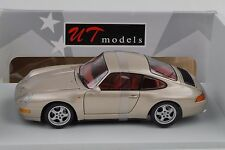 1995 porsche 911 993 Carrera Coupé Gold 1:18 ut