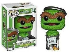 Funko - POP TV: Sesame Street - Oscar the Grouch #03