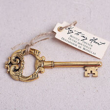 Key To My Heart Beer Bottle Opener Pub Barware Tool Wedding Party Favor Gift