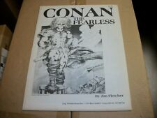 Jim Fletcher CONAN THE FEARLESS Art Portfolio