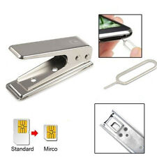 Micro SIM Card Cutter Standard To Micro For iphone 4/4s Tray Adapter Solid