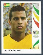 PANINI FIFA WORLD CUP-GERMANY 2006- #524-TOGO-JACQUES ROMAO