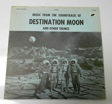 1960's Destination Moon And Other Themes Soundtrack LP 8005 Forbidden Planet VG+