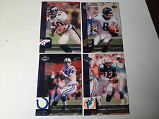 1999 Collectors Edge Football Advantage Preview Set - 10 Cards