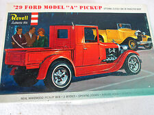 "Vintage 1965 Revell '29 Ford Model ""A""  pick up model kit H-1272 junkyard parts"