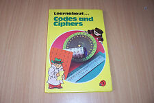 LADYBIRD BOOK Codes and Ciphers by J.C. Hawtin (Hardback, 1983) 1ST EDITION