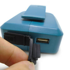 MAKITA Battery dual USB Charger Adapter for Makita BL1830 BL1430 adapter