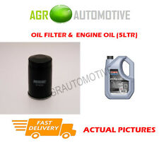 PETROL OIL FILTER + SS 10W40 OIL FOR MITSUBISHI SPACE GEAR 2.4 145BHP 1994-01