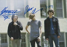 Cut Copy Band Autogramme full signed 20x30 cm Bild