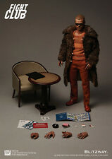 "Blitzway Fight Club Tyler Durden Fur Coat Ver 1/6 Scale 12"" Figure NEW In Stock"