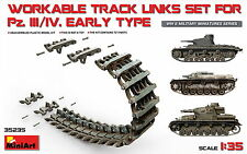 MiniArt 35235 WORKABLE TRACK LINKS SET FOR Pz.III / Pz.IV Early  type 1/35