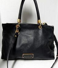 Marc by Marc Jacobs Too Hot To Handle Black Leather Convertible Tote Crossbody