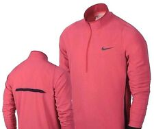 Nike Jetstream Protect Half-Zip Golf Pullover Jacket Washed Red 640092 Men's XL