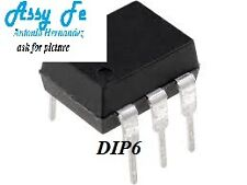 10pcs x CNY17F-2 IC-DIP6 TRANSISTOR OCTOCOUPLER 1-CH IN