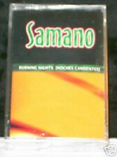 Samano Burning Nights (Noches Candentes) 13 track CASSETTE TAPE NEW!