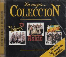 Yahari,Los Askis,Aaron y su Grupo Ilusion 30 Super Exitos 2CD New Nuevo Sealed