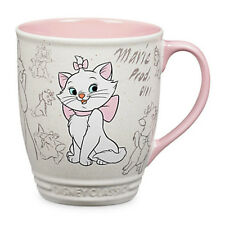 DISNEY STORE MARIE Classic Animation Art 16 OZ Coffee Tea Mug New THE ARISTOCATS