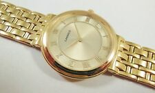 Lassale by Seiko Gold Tone Base Metal 7N00-F250 Sample Watch NON-WORKING
