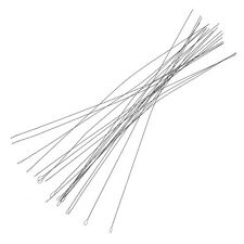 Flexible Twisted Wire Stainless Steel Beading Needles 0.24mm Pack of 25 (E39/8)