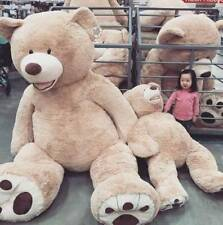 """New 200CM/ 79"""" SUPER HUGE TEDDY BEAR (ONLY COVER) PLUSH TOY SHELL (WITH ZIPPER)"""