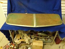 1950-1951 OLDSMOBILE 88 SUN VISOR, EXTERIOR, ONE PIECE WINDSHIELD