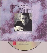 LEONARD COHEN / never any good + suzanne LIVE / 3 Track CD