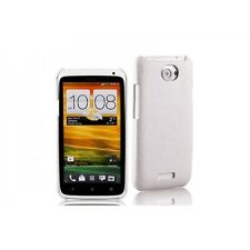 Momax Feel Touch Cases for HTC One X S720e XL X325e w/ Screen Protector - White