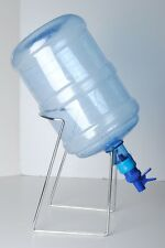 Silver Metal Cradle-Stand& Plunger Tap Dispenser  for 3456 Gallon Bottle Water