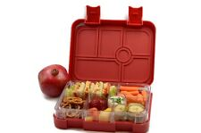 LIMITED Offer! Bento Bentgo Leak-Proof Yum Children's Lunch Box-Red