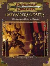 Dungeons and Dragons Accessory: Defenders of the Faith : A Guidebook to...