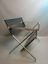 Vintage Designer Klappstuhl Bauhaus Design Marcel Breuer Model B4 1926-1927