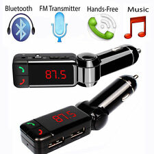 Universal Wireless Bluetooth FM Transmitter MP3 Player Car Kit Charger for Phone