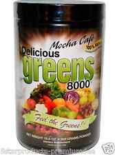 NEW GREENS WORLD DELICIOUS GREEN 8000 ORGANIC FREEZED DRIED PROBIOTICS POWDER