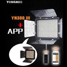 YongNuo YN-300 III 300pcs Continuous LED Video Light For Nikon Sony DSLR Camera