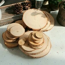 100PCS Wood Discs 1.5-3CM Log slices Wedding Centerpieces Hobby Party, DIY Craft
