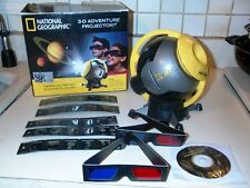 National Geographic 3D glasses Adventure Projector Space Science JOURNEY Film CD