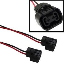 5202 H16 2504 PS24W Bulbs Female Connector For Fog Lights Wiring Pigtail Harness