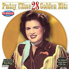 FREE US SH (int'l sh=$0-$3) NEW CD Patsy Cline: 28 Golden Hits