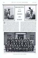 1901 Recruits How Armies Are Raised Tommy Atkins Epicure